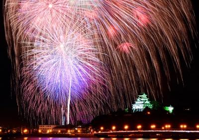 Jul: Kyushu Firework Festival