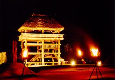 Oct: Fire Festival in Yoshinogari Park