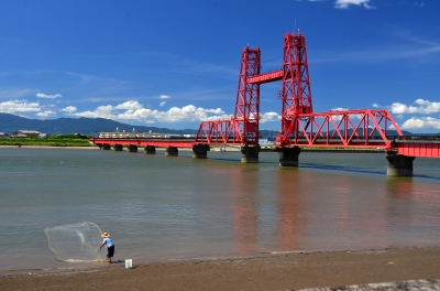 Bridge Station Doronpa / Chikugo River Lift Bridge