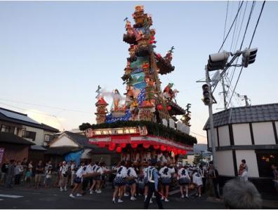 浜崎祇園山囃子保存会館
