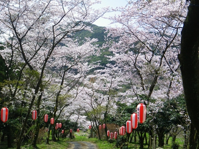 The mountain located by Ayabe Shrine is known as