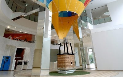 SAGA Balloon Museum was opened. You can enjoy balloons all year round without being influenced by weather here in Saga called