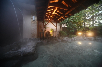 We boast about Ureshino's special sticky hot spring which is good for your skin.