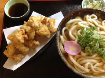 Homemade Udon Restaurant in Taku City Bussan Kan (souvenir shop)