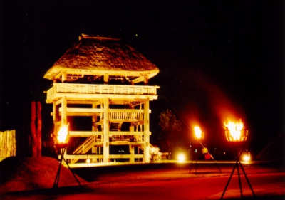 Oct: Fire Festival in Yoshinogari Park