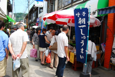 Yobuko Morning Market