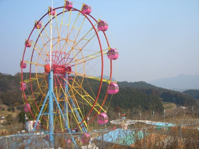 This forest-themed amusement park is a perfect place for small kids.