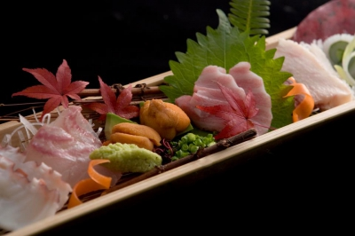 All of the fish used here are fresh. For vegetables, some special ones are delivered from all around Japan and the other great ingredients are picked locally.
